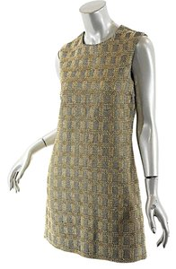 Michael Kors short dress Gold & Charcoal Sheath Beads on Tradesy