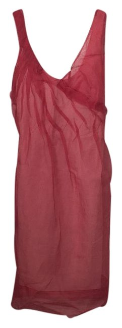 Preload https://img-static.tradesy.com/item/18957163/bcbgmaxazria-coral-knee-length-night-out-dress-size-0-xs-0-1-650-650.jpg