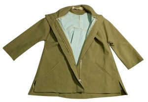 Lela Rose Anorak Military Fall Utility Military Jacket