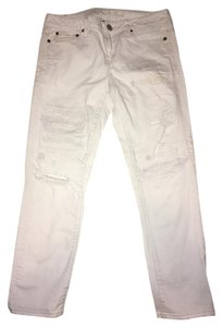 American Eagle Outfitters Capri/Cropped Denim-Light Wash