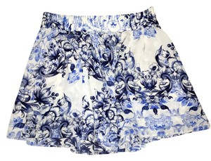 United Colors of Benetton Summer Mini Skirt Floral