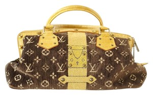 Louis Vuitton Monogram Ltd Ed Tote in Brown and Honey
