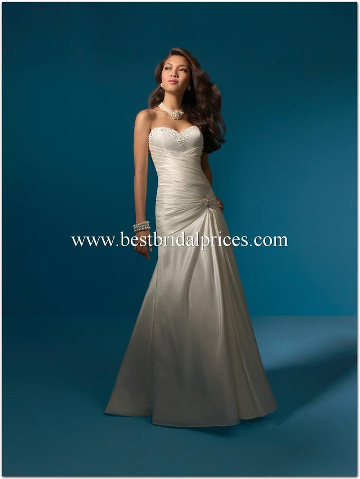 Alfred angelo 2052 wedding dress wedding dresses on sale for Best way to sell used wedding dress
