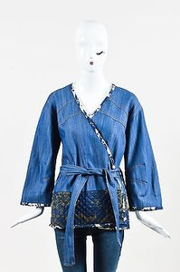 10 Crosby Derek Lam Nwt Blue Jacket