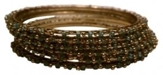 Preload https://item1.tradesy.com/images/new-york-and-company-green-and-gold-set-of-6-bangle-bracelet-18960-0-0.jpg?width=440&height=440