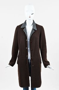 Ralph Lauren Collection Cashmere Knit Ls Pointed Collar Cardigan Sweater
