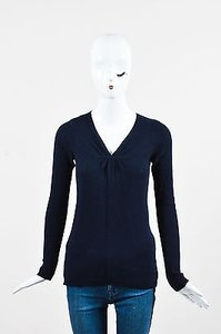 Vince Navy Cashmere Sweater