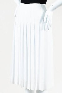 Altuzarra Pleated Zurina Skirt White