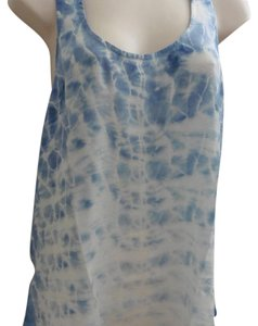 Gypsy05 Top Blue Tie Dyed