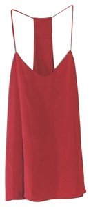 Tibi Top Red