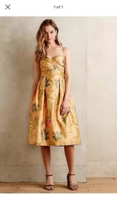 Yellow Botanica Dress