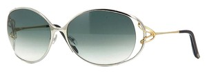 Fred Lunettes Fred Lunettes Volute 101 Palladium/Champagne Gold Women Sunglasses
