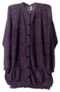 M Missoni Purple Hued Cardigan