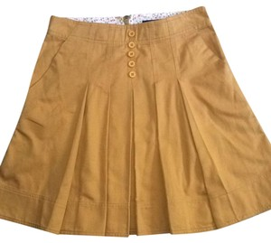 Marc by Marc Jacobs Mini Skirt Mustard