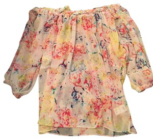 CAbi floral blouse size xs Top