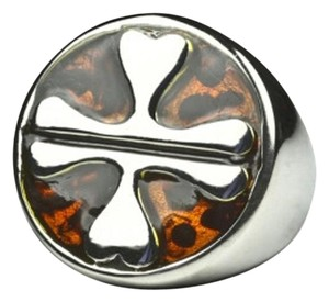 Lucky Charm Stainless Steel Ring [SHIPS NEXT DAY]