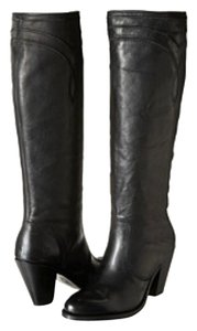 Frye Leather Tall Boot Black Boots