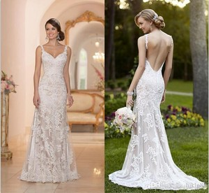 Essense of australia essence of australia d1672 wedding for V neck wedding dresses australia