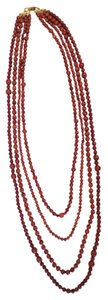 Tory Burch Tory Burch Multistrand Bead Necklace