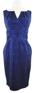 Adrianna Papell Lace Overlay Classy Dress