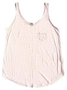MINKPINK Top Pink & White