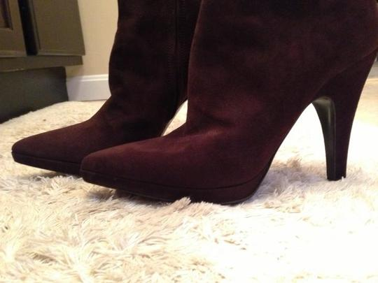 Prada Suede Brown Boots