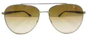 Michael Kors New MK 5007 10442L Hvar Gold Aviators Brown Gradient Lens 59mm