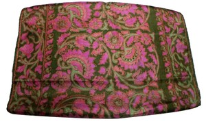 Other Paisley Green, Silk Vintage Long Scarf