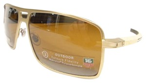 TAG Heuer Tag Heuer 0987 Senna Racing Sunglasses 203 Brushed Gold Authentic New