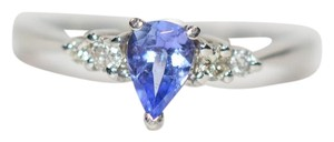 LeVian Scarce LeVian .75tcw Tanzanite & Diamond Platinum Ring