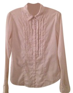 A|X Armani Exchange Button Down Shirt White