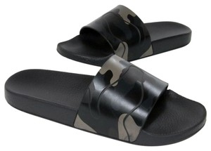 Valentino Gucci Versace Givenchy Flip Flops Black Sandals