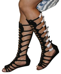Carlos by Carlos Santana Gladiator Black Sandals