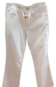 Ann Taylor LOFT Boot Cut Pants Off white