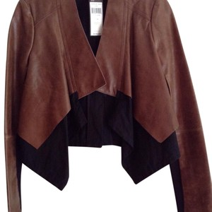 BCBGMAXAZRIA Toffee Leather Jacket