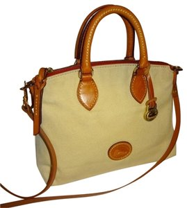 Dooney & Bourke Satchel in Bone