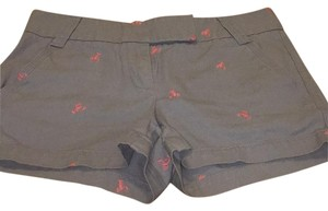 J.Crew Mini/Short Shorts Grey and pink