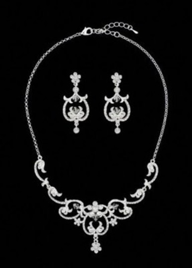 Preload https://item2.tradesy.com/images/david-s-bridal-necklace-and-earring-jewelry-set-189686-0-0.jpg?width=440&height=440