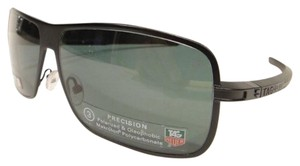 TAG Heuer Tag Heuer 0998 Senna Racing Sunglasses 305 Black Polarized Authentic New