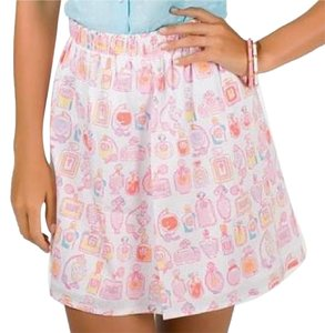 Lilly Pulitzer Mini Skirt White, Pink, Yellow, Blue, Orange, Purple