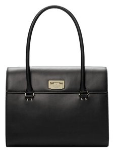 Kate Spade Extra Large Classic Top Handle Handbag Tote in Black