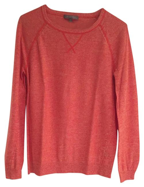 Preload https://item1.tradesy.com/images/neiman-marcus-coral-nm-sweaterpullover-size-2-xs-18968845-0-1.jpg?width=400&height=650
