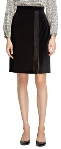 Brooks Brothers Holiday Classic Formal Skirt Black