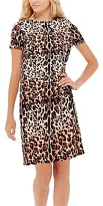 The Limited short dress Leopard print on Tradesy