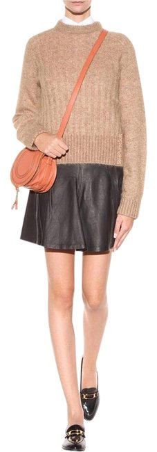 Preload https://item4.tradesy.com/images/polo-ralph-lauren-black-soft-lambskin-leather-a-line-miniskirt-size-10-m-31-18969163-0-5.jpg?width=400&height=650