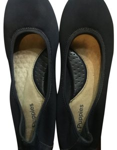 Hush Puppies Navy Flats