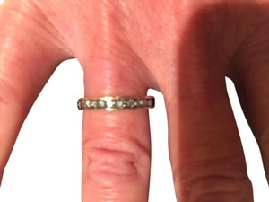 TAP by TODD POWNELL TAP by TODD POWNELL 18K YELLOW GOLD INVERTED DIAMOND ETERNITY BAND