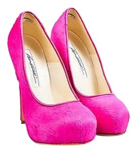 Brian Atwood Hot Pony Pink Pumps