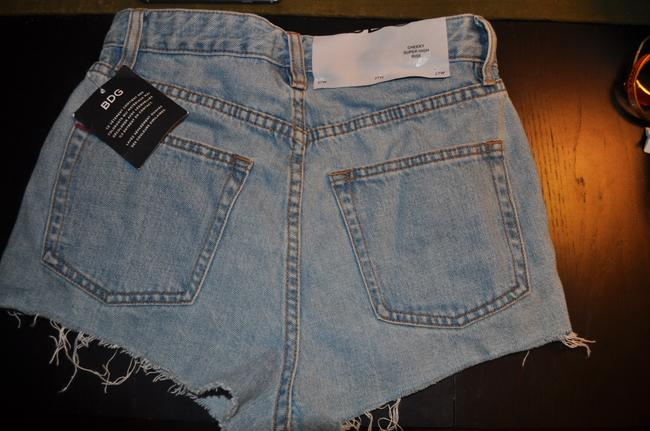 BDG Urban Outfitters Denim Highwasted Denim Cheeky Shorts Jean