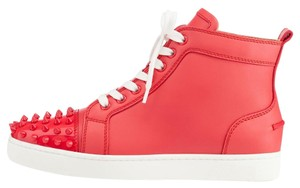Christian Louboutin Spike Red Athletic